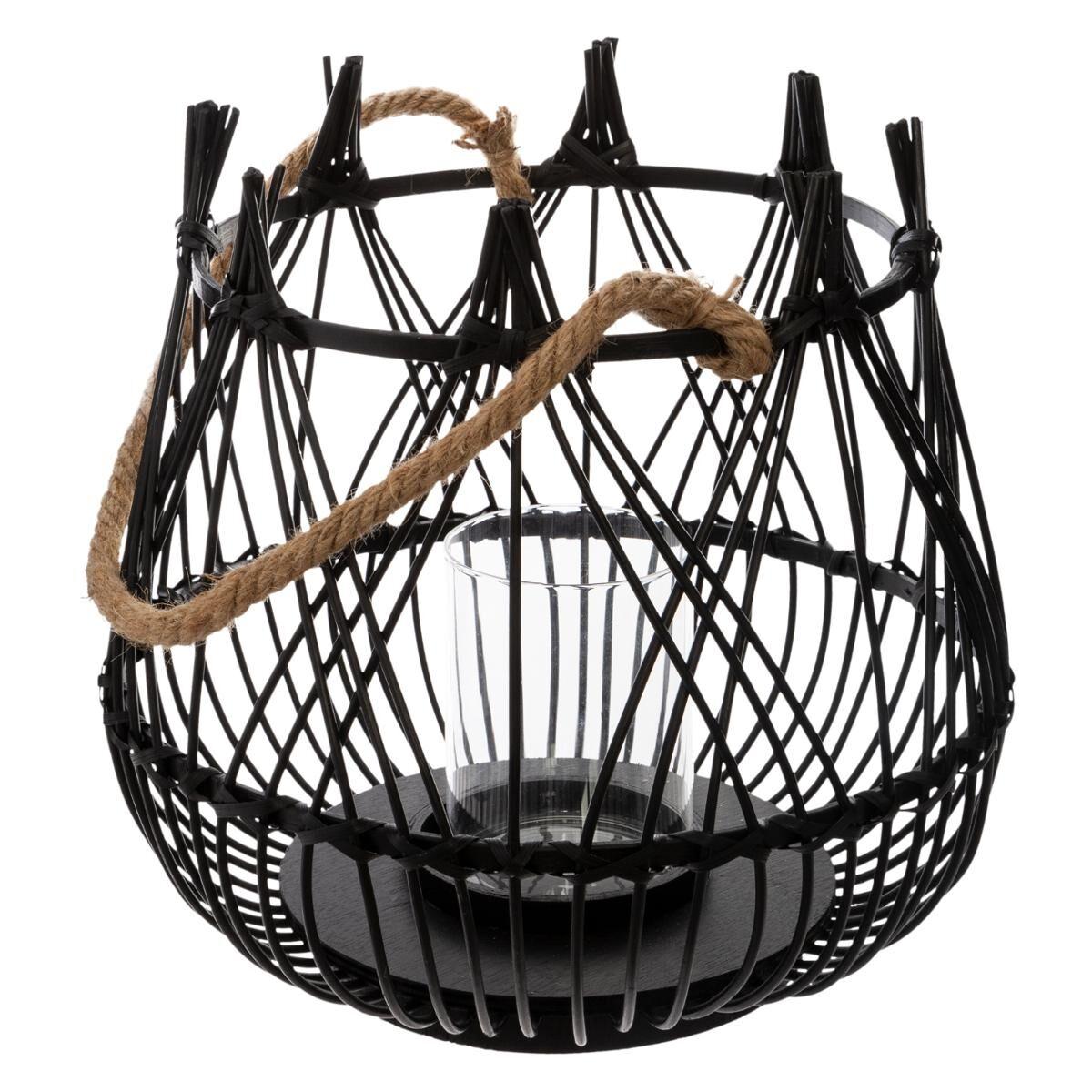 ATMOSPHERA Lanterne panier Jardin H.31 cm
