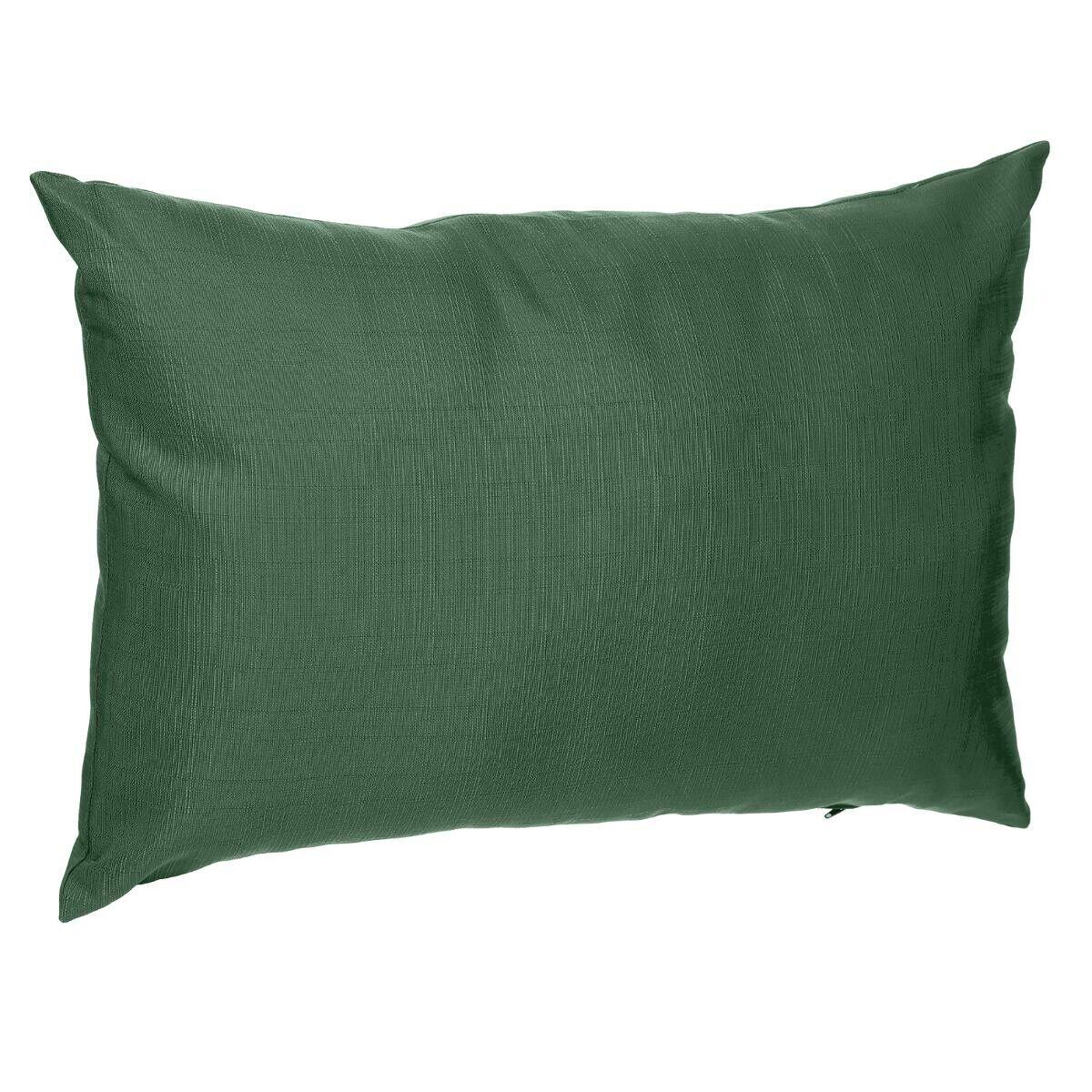 Hespéride Coussin déco d'extérieur Korai Vert Olive Jardin 30 x 50 cm - Polyester