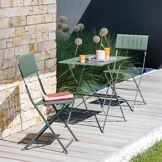 Hespéride Table de jardin pliante Nasca Vert sauge