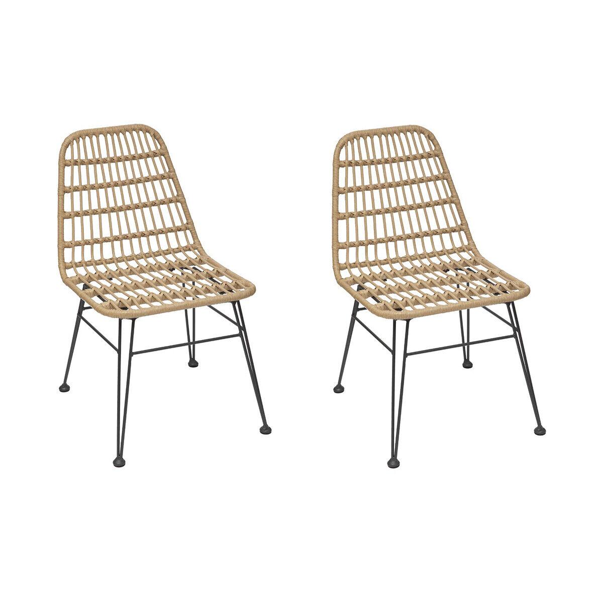 Hespéride Chaise de jardin Lambada Sésame   Graphite
