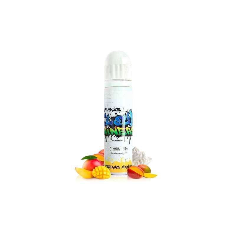 Cloud niners E-liquide Creamy Mango 50ml - Cloud Niners- Genre : 40 - 70 ml