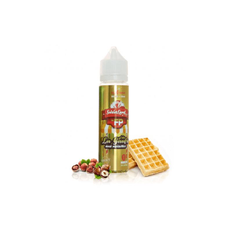 Flavour Power La p'tite gaufre aux noisettes 50ml - Sweetland- Genre : 40 - 70 ml