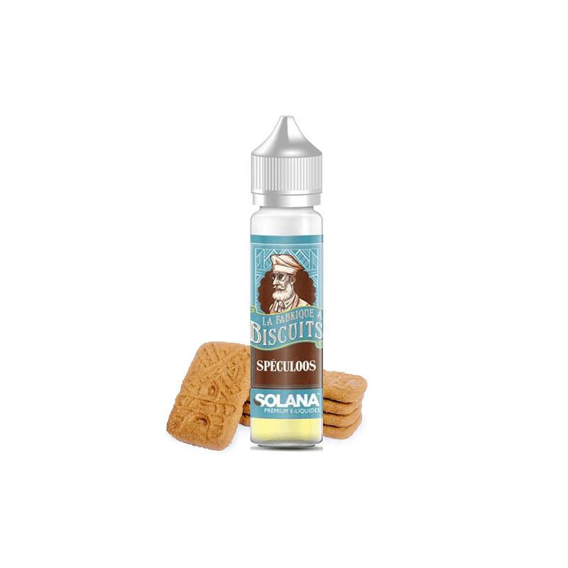 Solana Spéculoos 50ml - La fabrique à biscuits- Genre : 40 - 70 ml
