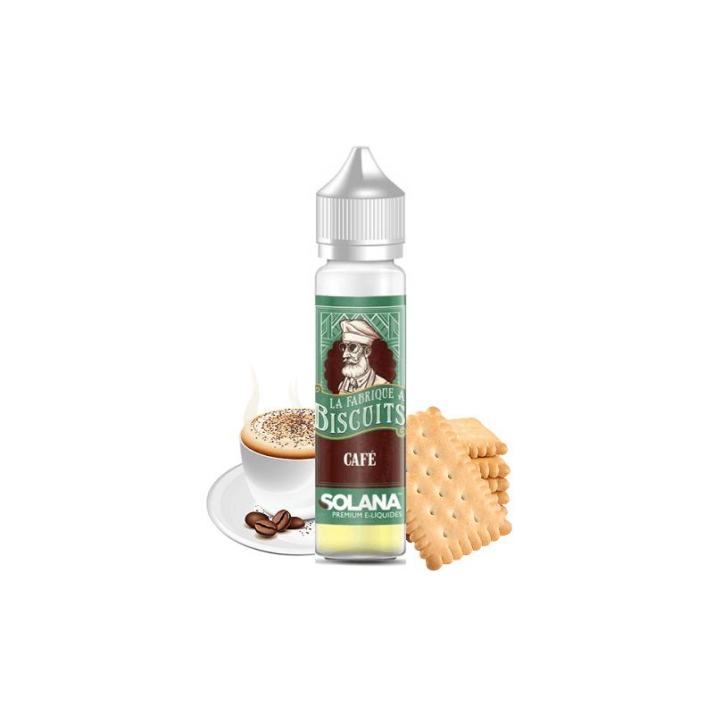 Solana Café 50ml - La fabrique à biscuits- Genre : 40 - 70 ml