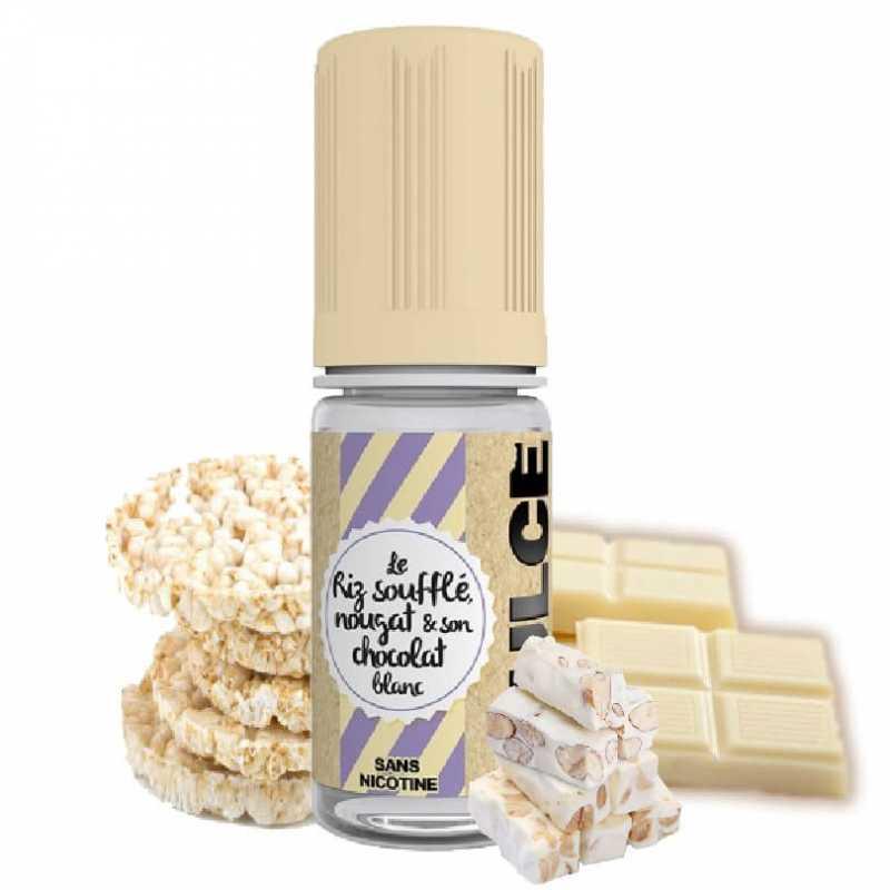 Dlice Le riz soufflé nougat et son chocolat blanc - Dulce- Genre : 10 ml- Genre : 10 ml