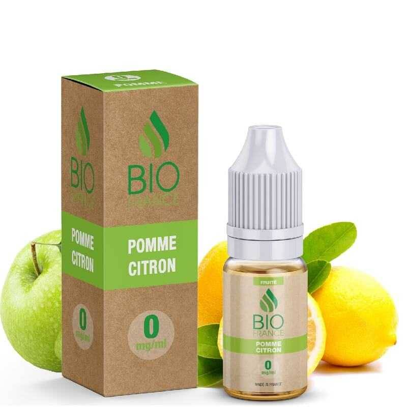 Bio France E-liquide Pomme citron - Bio France- Genre : 10 ml