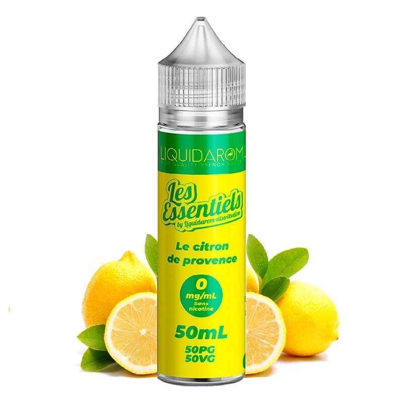 Liquidarom Le Citron de Provence 50ml - Les Essentiels- Genre : 40 - 70 ml