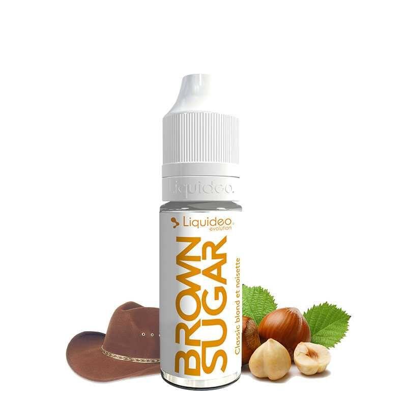 Liquideo E-liquide Brown Sugar - Liquideo- Genre : 10 ml