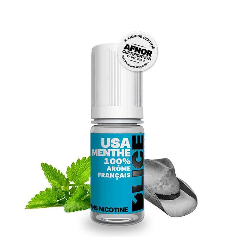 Dlice E-liquide USA menthe - Dlice- Genre : 10 ml