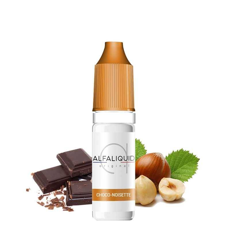 Alfaliquid Choco Noisette - Alfaliquid- Genre : 10 ml
