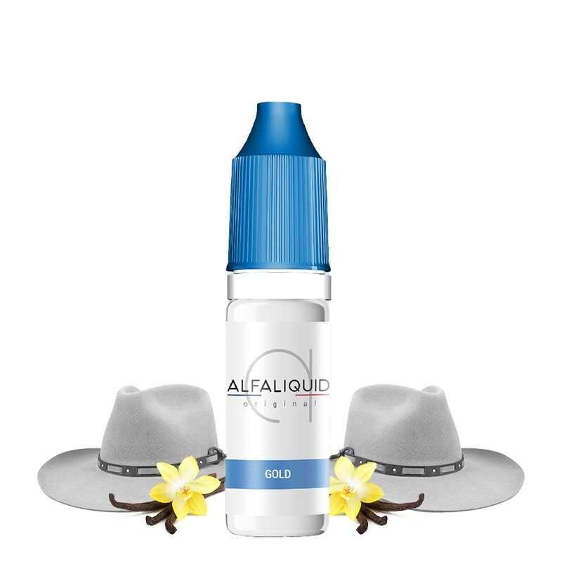 Alfaliquid Classic Gold - Alfaliquid- Genre : 10 ml