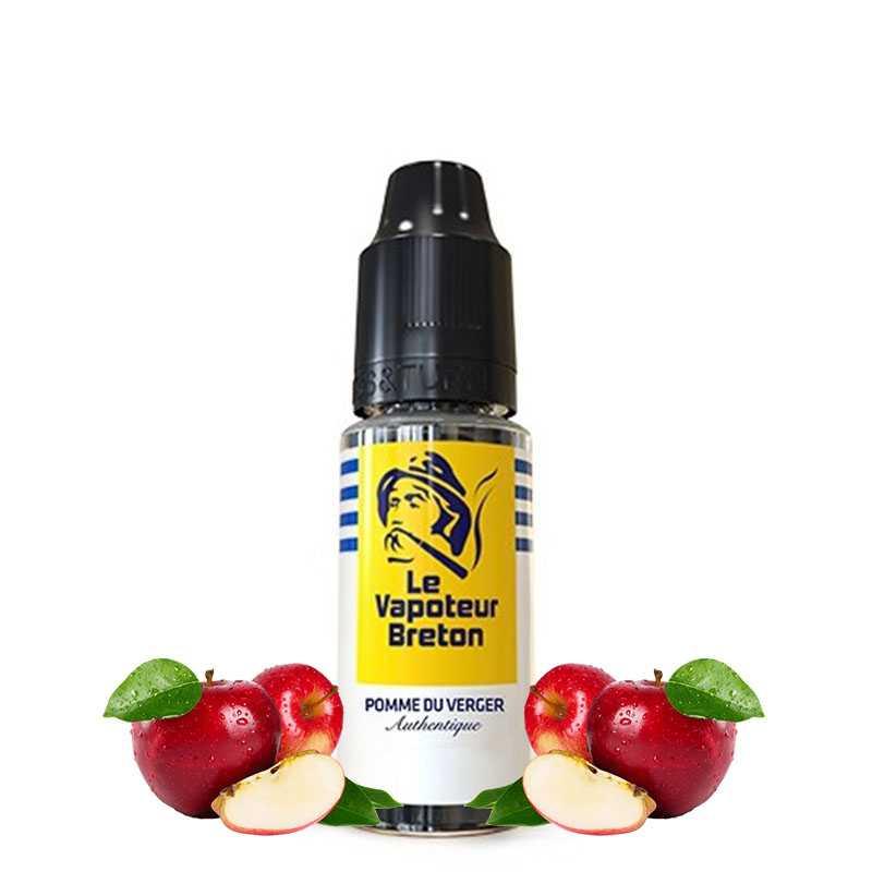Le Vapoteur Breton Pomme du verger - Le vapoteur breton- Genre : 10 ml