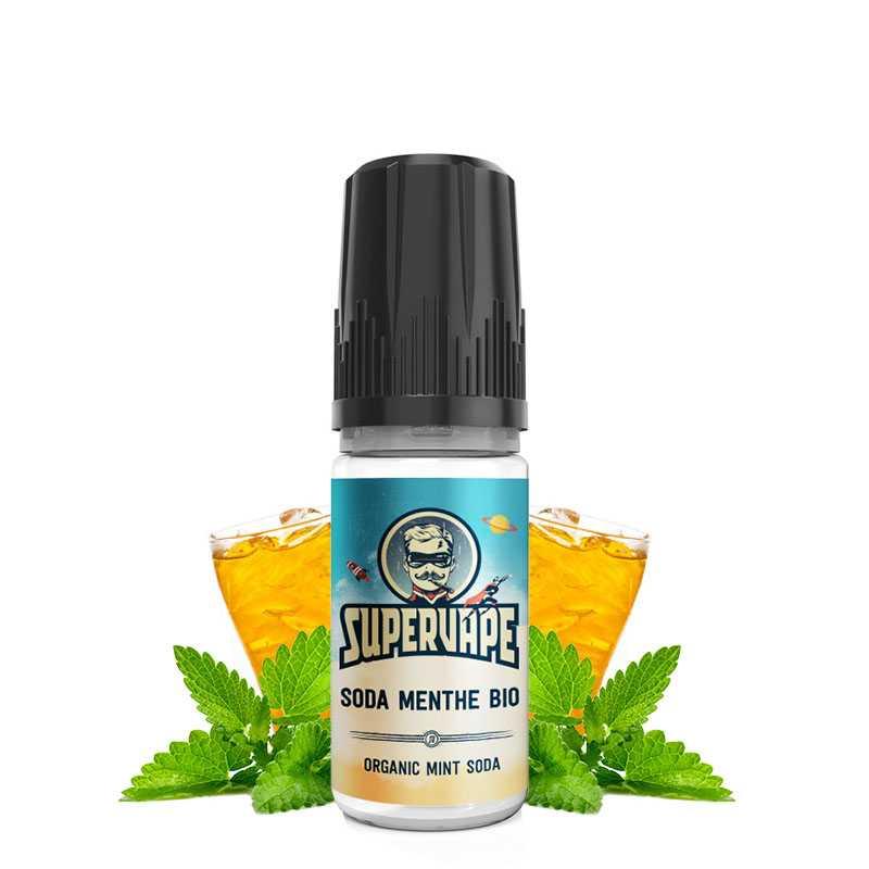 Supervape Arôme Soda Menthe Bio - Supervape- Genre : 10 ml