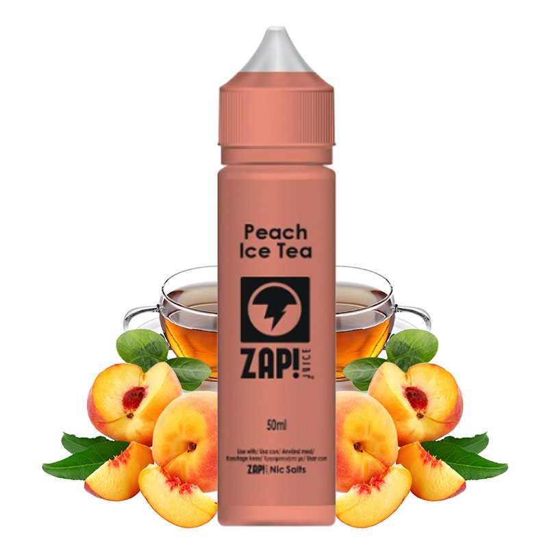 Zap juice Peach ice tea 50ml - Zap juice- Genre : 40 - 70 ml