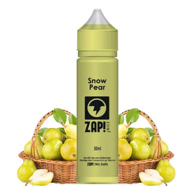 Zap juice Snow Pear 50ml - Zap juice- Genre : 40 - 70 ml