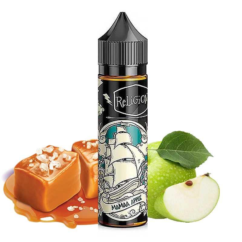 Religion juice In Fine Mamaa Apple 50ml - Religion Juice- Genre : 40 - 70 ml