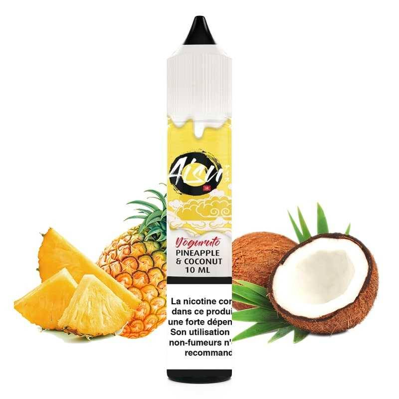 Zap juice Pineapple & Coconut - Aisu Yoguruto by Zap Juice- Genre : 10 ml