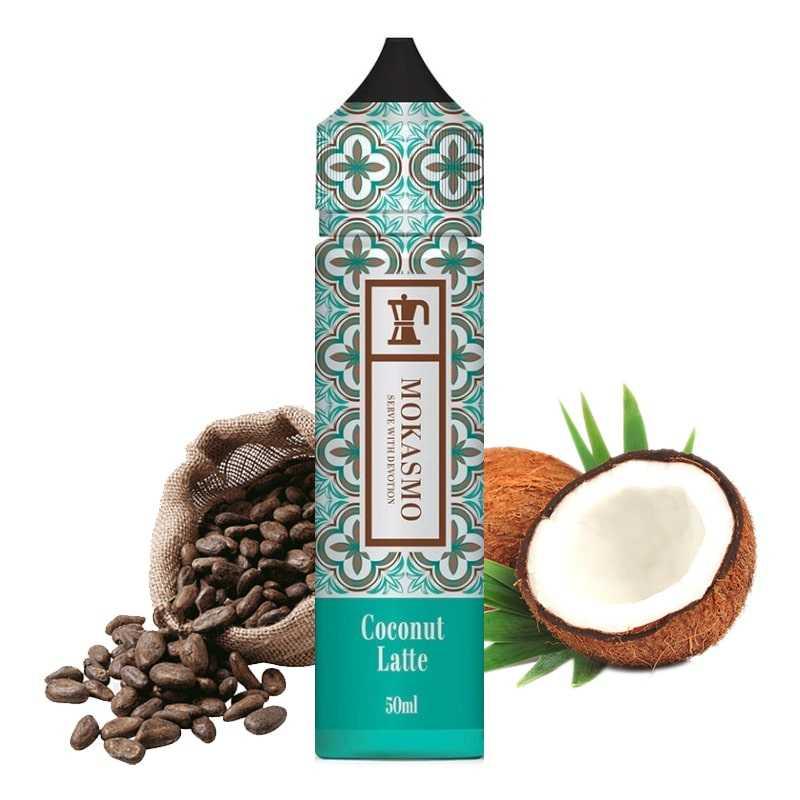 Zap juice Coconut Latte 50ML - Aisu Mokasmo by Zap Juice- Genre : 40 - 70 ml