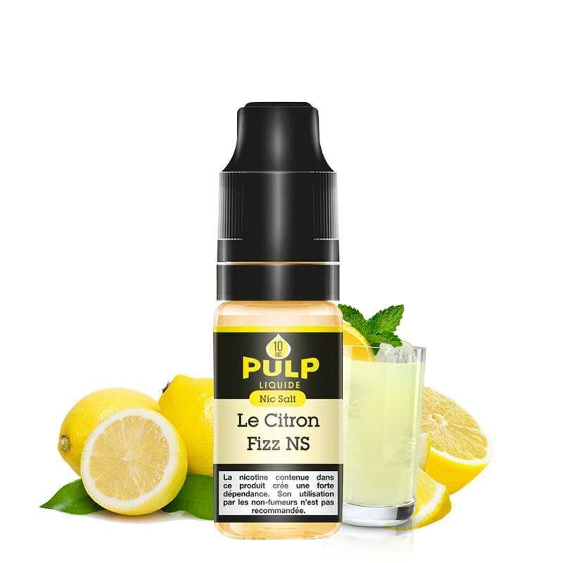 PULP Sel de Nicotine Le Citron Fizz - Pulp- Genre : 10 ml