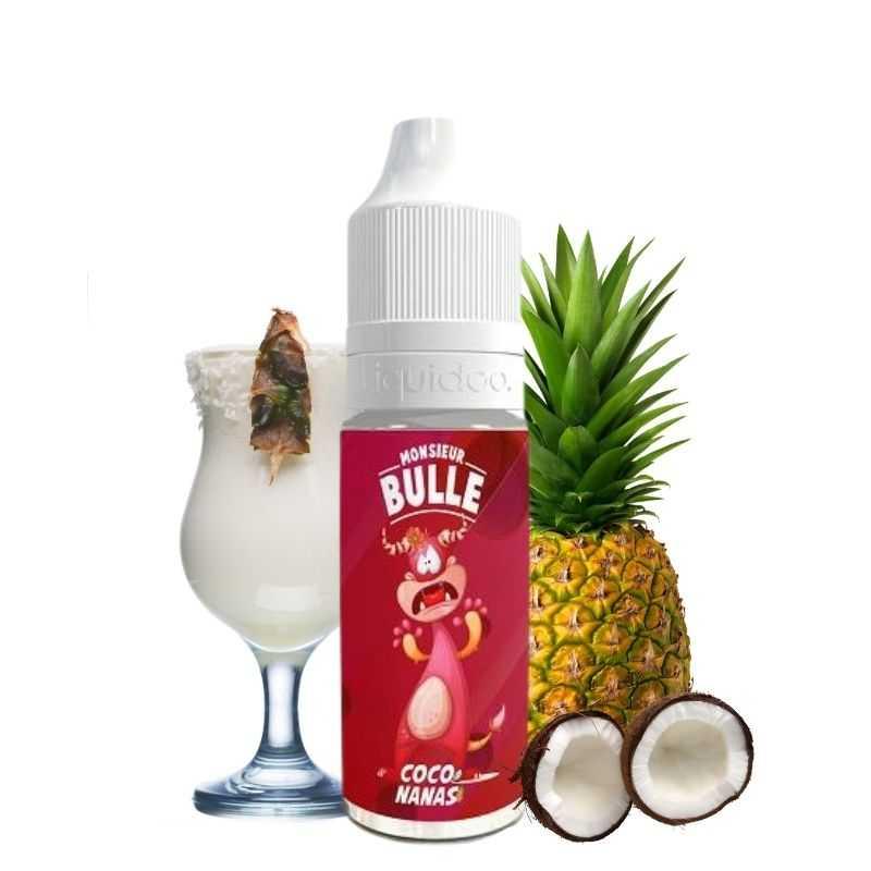 Liquideo Coco Nanas - Monsieur Bulle- Genre : 10 ml