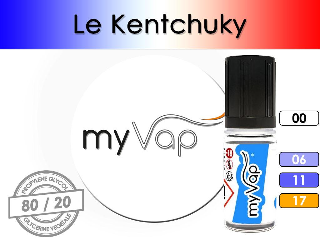 le kentucky - myvap ( t-kentucky ) pour cigarette électronique