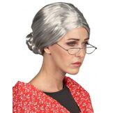 Perruque Grand-mère femme Taille Unique