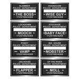 8 Pancartes de prison pour Photobooth Taille Unique