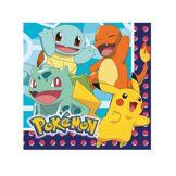 16 Serviettes en papier Pokémon 33 x 33 cm Taille Unique