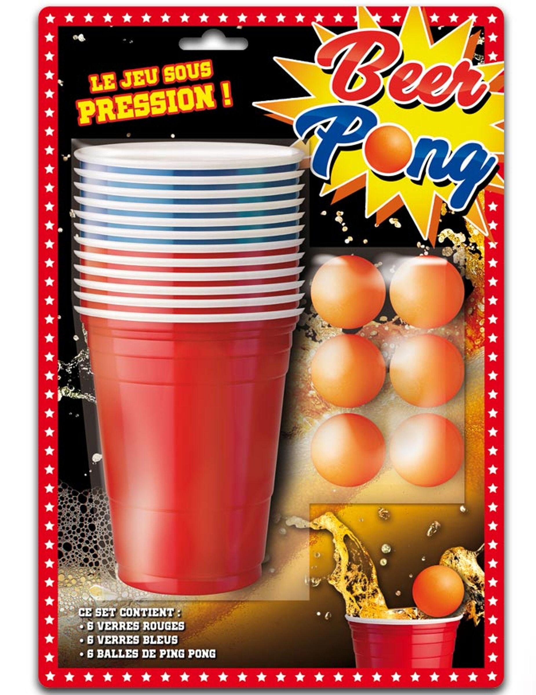 VegaooParty Kit de Beer Pong