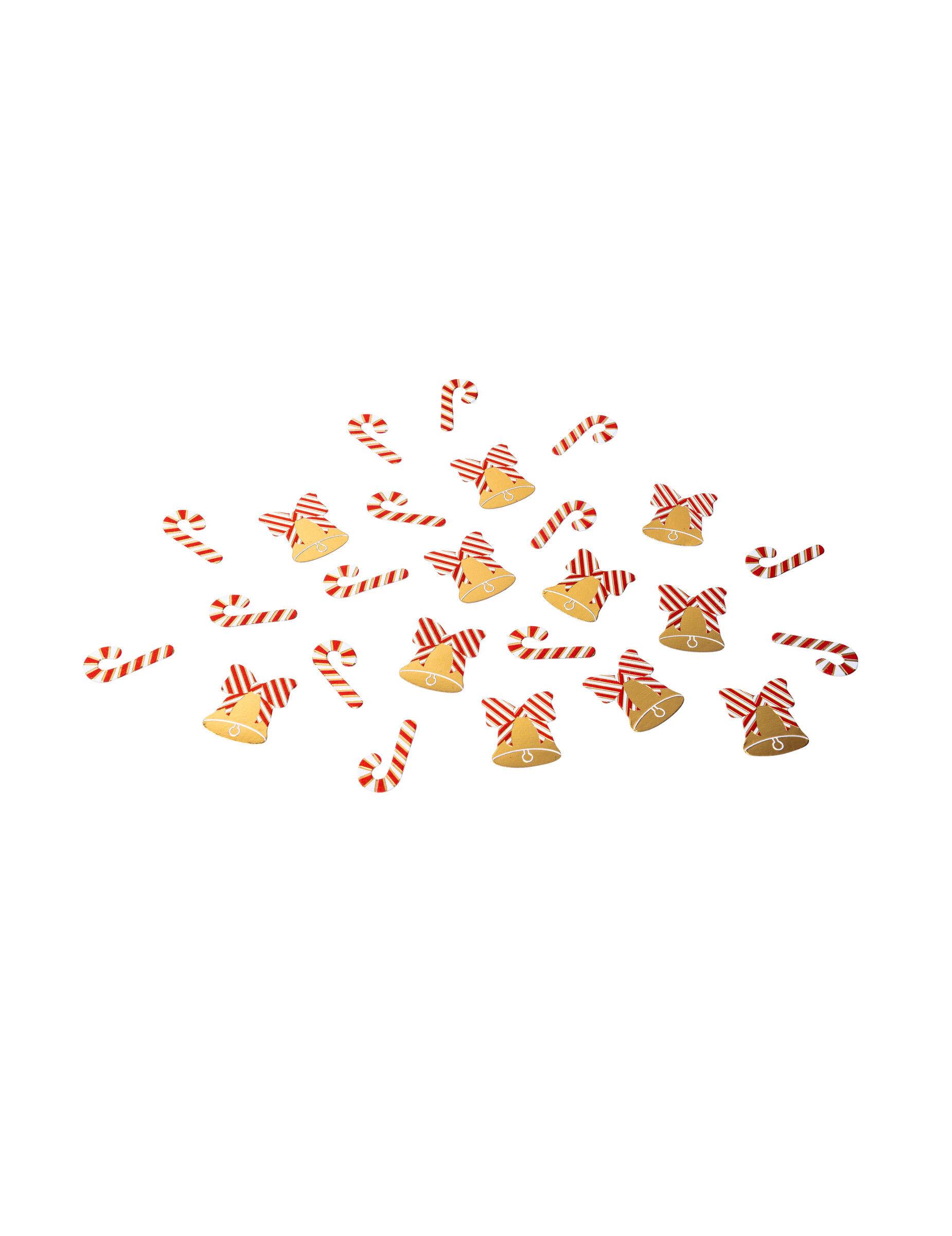 VegaooParty Confettis de table sucre d'orge et cloche 2 x 3 cm