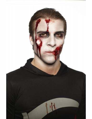 Kit maquillage zombie adulte Halloween Taille Unique