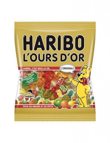 Sachet Bonbons Haribo L'ours d'Or 120 g. Taille Unique