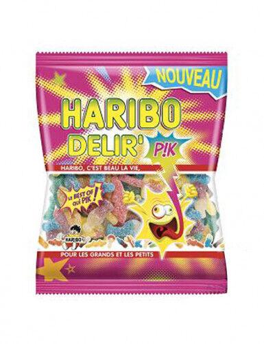 Sachet Bonbons Delir' Haribo 120 g. Taille Unique