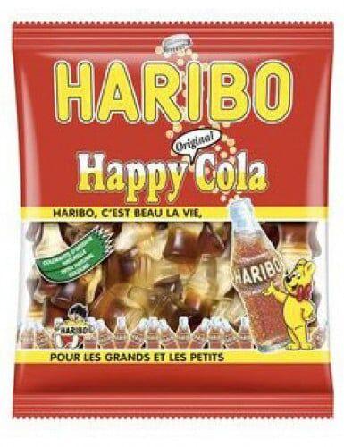 Sachet bonbons Haribo cola Taille Unique