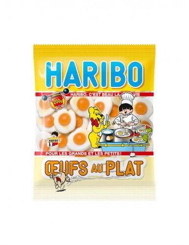 Sachet bonbons Haribo Oeufs au plat Taille Unique