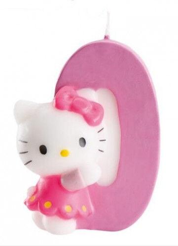 Bougie numéro 0 Hello Kitty Taille Unique