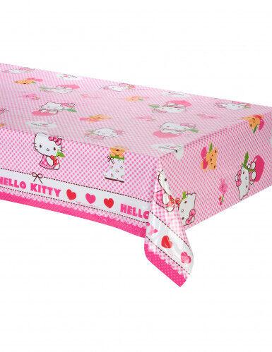 Nappe en plastique Hello Kitty 120 x 180 cm Taille Unique