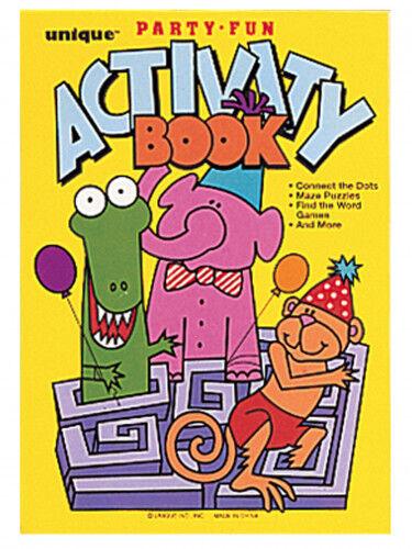 8 Livres d'activités pour enfant TU