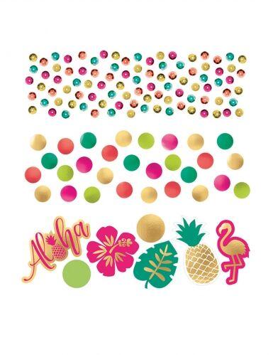 Confettis de table Aloha chic 34 g Taille Unique