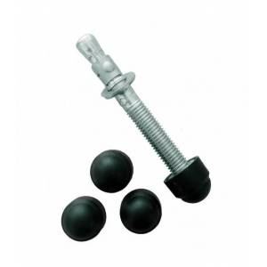 Lot 4 caches pour goujon - Couleur - Noir 9005 - Publicité