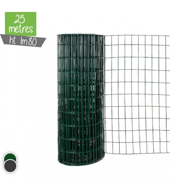 Grillage Soude LUX 1m80 - Couleur - Vert 6005