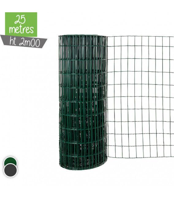 Grillage Soude LUX 2m00 - Couleur - Vert 6005