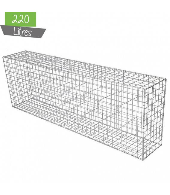 Gabion Décor Cube 120 x 60 cm