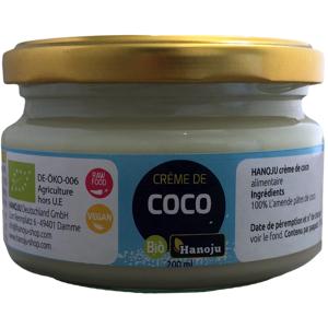Hanoju Crème de Noix de Coco Biologique - 500 g - Publicité