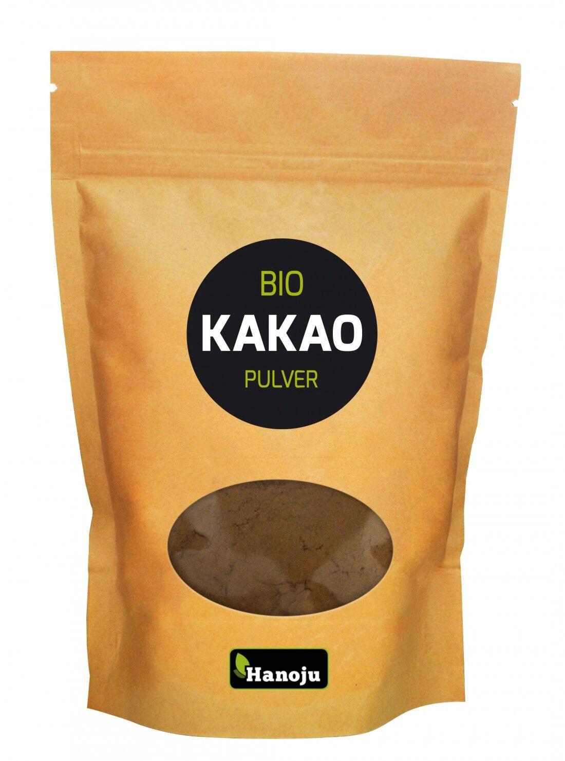 Hanoju Poudre de Cacao crue et Bio