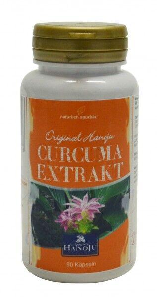Hanoju Curcuma Longa - extrait 10:1 - 90 gélules - 500 mg