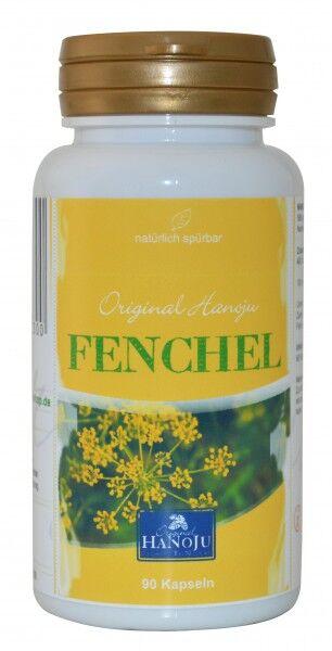 Hanoju Graine de Fenouil (extrait) - 90 gélules - 500 mg