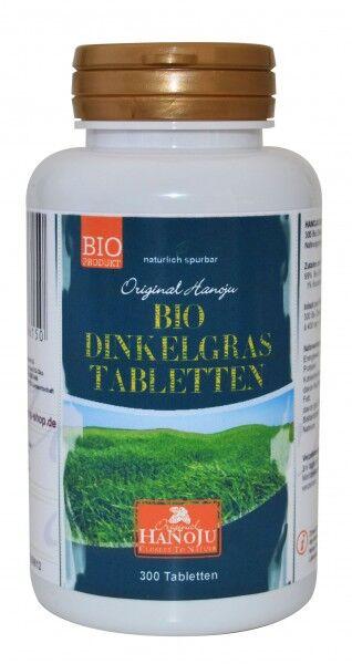 Hanoju Herbe d'épeautre bio (poudre) - 300 comprimés - 400 mg