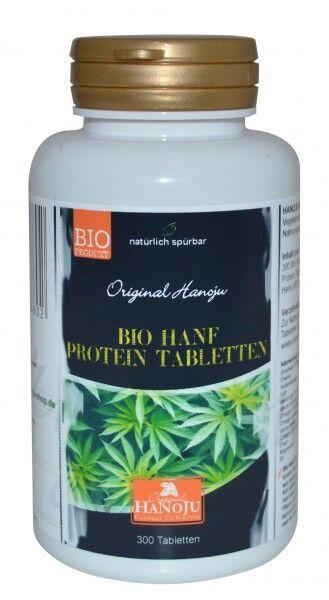 Hanoju Chanvre bio (Cannabis Sativa L.) - 300 comprimés - 500 mg
