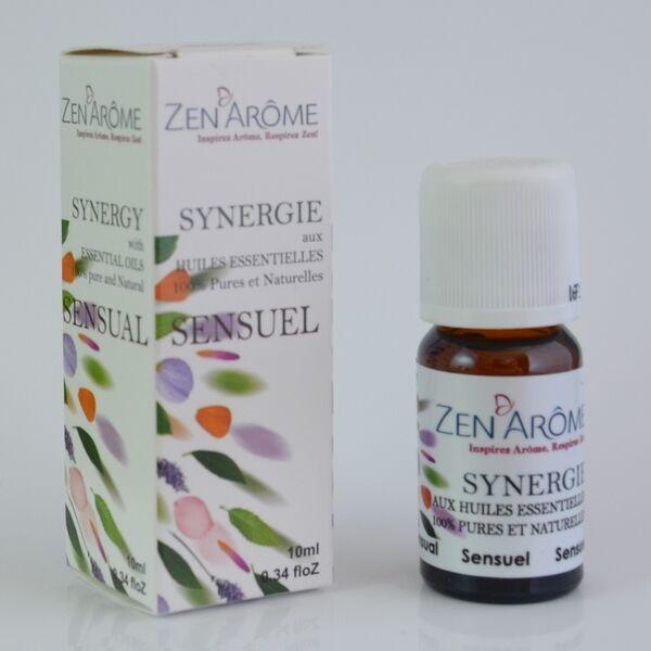 Zen ArÔme Synergie d'Huiles Essentielles - Sensuel - 10 mL